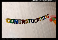 Larry's Baby Shower